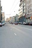 Novoslobodskaya Street in Moscow, Russia Stock Image