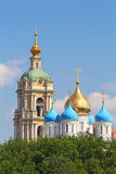 Novospasskiy monastery, Moscow, Russia Royalty Free Stock Images