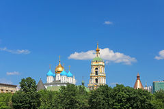 Novospasskiy monastery, Moscow, Russia Stock Image