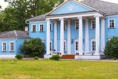 Novospasskoye,斯摩棱斯克地区,俄罗斯-著名俄国作曲家M的博物馆庄园 我 格林卡在俄罗斯 免版税图库摄影