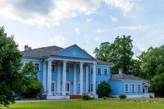 Novospasskoye,斯摩棱斯克地区,俄罗斯-著名俄国作曲家M的博物馆庄园 我 格林卡在俄罗斯 库存照片