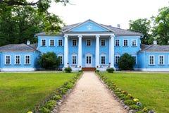 Novospasskoye,斯摩棱斯克地区,俄罗斯-著名俄国作曲家M的博物馆庄园 我 格林卡在俄罗斯 免版税库存照片