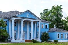 Novospasskoye, Smolensk region, Russia - June 11, 2018: Museum-Estate of the famous Russian composer M.I. Glinka in Russia. Novospasskoye, Smolensk region stock image