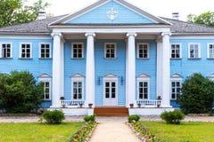 Novospasskoye, Smolensk region, Russia - Museum-Estate of the famous Russian composer M.I. Glinka in Russia. Novospasskoye, Smolensk region, Russia - June 11 royalty free stock photo