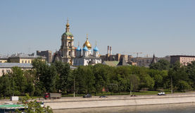 novospassky kloster Royaltyfri Fotografi