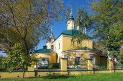 novospassky kloster Fotografering för Bildbyråer