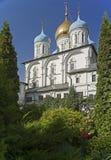 novospassky kloster Arkivfoto