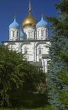 novospassky kloster Royaltyfri Foto