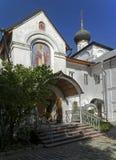 novospassky kloster Arkivfoton