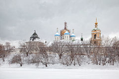 Novospassky monastery Royalty Free Stock Photos