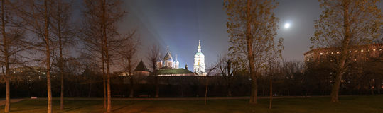 Novospassky Monastery Stock Photo