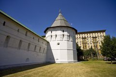 Novospassky monastery, Moscow Royalty Free Stock Photos
