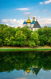 Novospassky Monastery in Moscow. Russia Royalty Free Stock Image