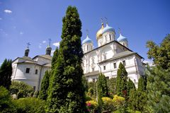 Novospassky monastery, Moscow Stock Image