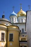 Novospassky monastery, Moscow Royalty Free Stock Photography