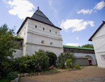 Novospassky monastery, Moscow Stock Images
