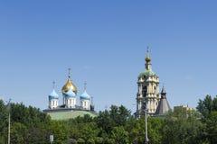 Novospassky monastery Royalty Free Stock Photo