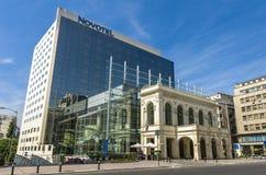 Novotel Bucarest Fotografia Stock