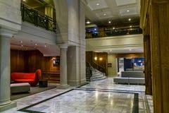 Novotel hallway Royalty Free Stock Image