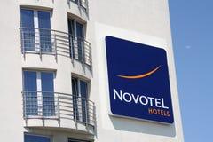 Novotel Hotel Lizenzfreies Stockfoto