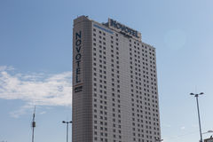Novotel. Hotel by Accor hotels in central Warsaw Royalty Free Stock Photos