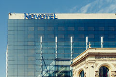 Novotel-Hotel in Bukarest Stockfoto