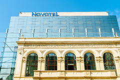 Novotel-Hotel in Bukarest Stockbilder