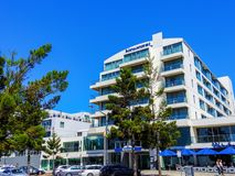 Novotel-Hotel in Geelong, Victoria, Australien Lizenzfreie Stockbilder