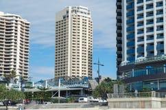 Novotel hotel at Surfers Paradise in Australia. Royalty Free Stock Photo
