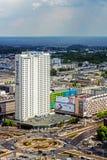 Novotel hotel w Warszawa Zdjęcie Stock