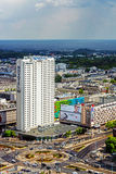 Novotel Hotel in Warsaw Stock Photo