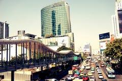 Novotel Platinum Hotel at Pratunam Center of Bangkok royalty free stock images