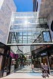 Novotel Suites with shopping arcade De Passage in The Hague, Netherlands. The Hague, Netherlands - April 21, 2016: Novotel Suites with shopping arcade De Passage Stock Photos