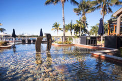 Novotel - Twin Waters Resort. Sunshine Coast, Australia - July 1st, 2014: Hotel in the Sunshine Coast that offers 4 star accommodations and is centrally located Stock Images