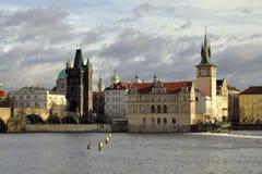 Novotny Lavka bij Oude Stad Royalty-vrije Stock Fotografie