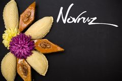 Novruz holiday pastry Royalty Free Stock Images
