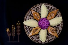 Novruz holiday pastry Royalty Free Stock Photo