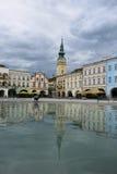 Novy Jicin, República Checa fotografía de archivo
