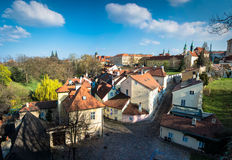Novy Svet, Prague, Czech Republic Royalty Free Stock Images
