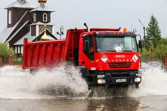 Iveco AMT Trakker Stock Photography