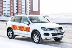 Volkswagen Touareg Royalty Free Stock Photos