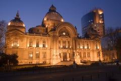 nową ' starą ' budynków bankowych Zdjęcia Stock
