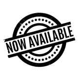 Now Available rubber stamp Royalty Free Stock Photos