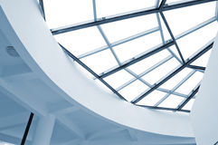 Now the building roof Royalty Free Stock Image