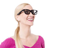 Now, i can see clearly. royalty free stock image