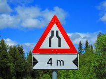 Now its a narrower road to heaven there. Now its a narrower road to heaven royalty free stock images