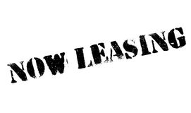 Now Leasing rubber stamp Stock Photography