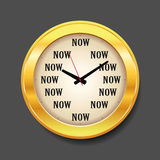 Now moment concept Royalty Free Stock Images