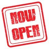 Now open Royalty Free Stock Photo