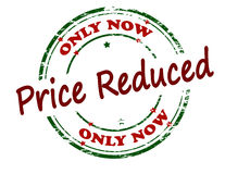 Only now price reduced Royalty Free Stock Image